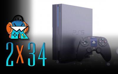 2×34 PS5, primeros detalles oficiales de la consola