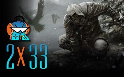 2×33 Assassin's Creed 2020 y Crash Team Racing