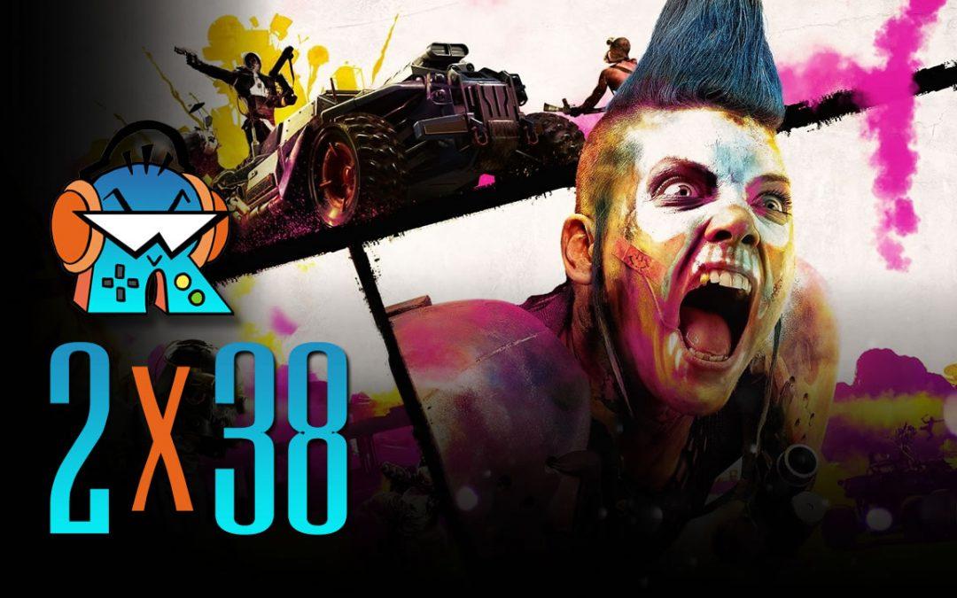 2×38 Análisis RAGE 2, A Plague Tale y rumores del E3