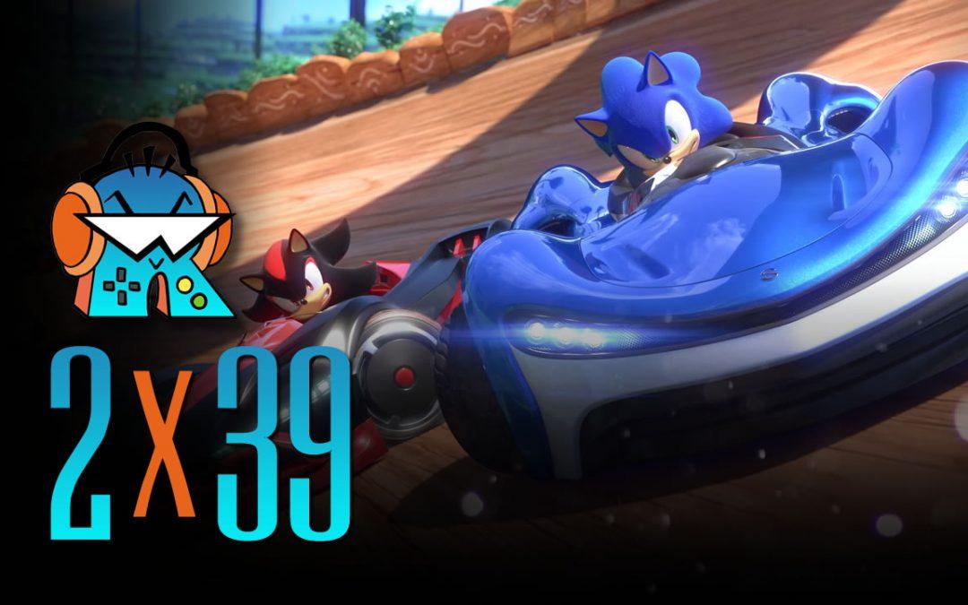 2×39 Rumores FFVIIR y análisis Team Sonic Racing