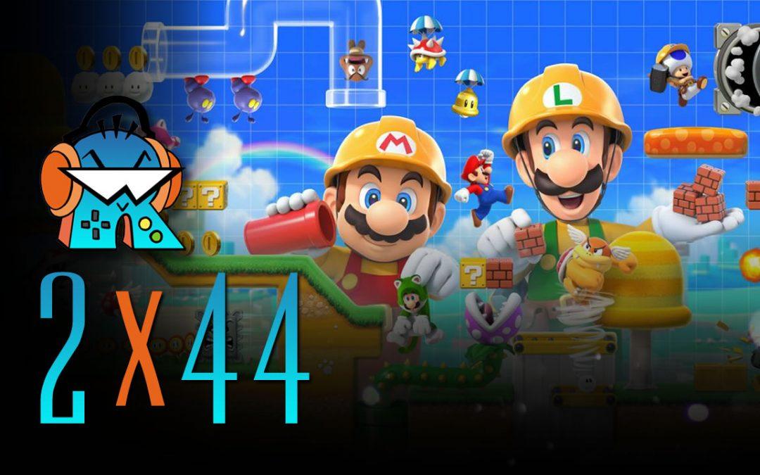 2×44 Super Mario Maker 2 y cómo montarse PC barato