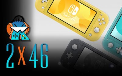 2×46 Nintendo Switch Lite y Dragon Quest Builders 2