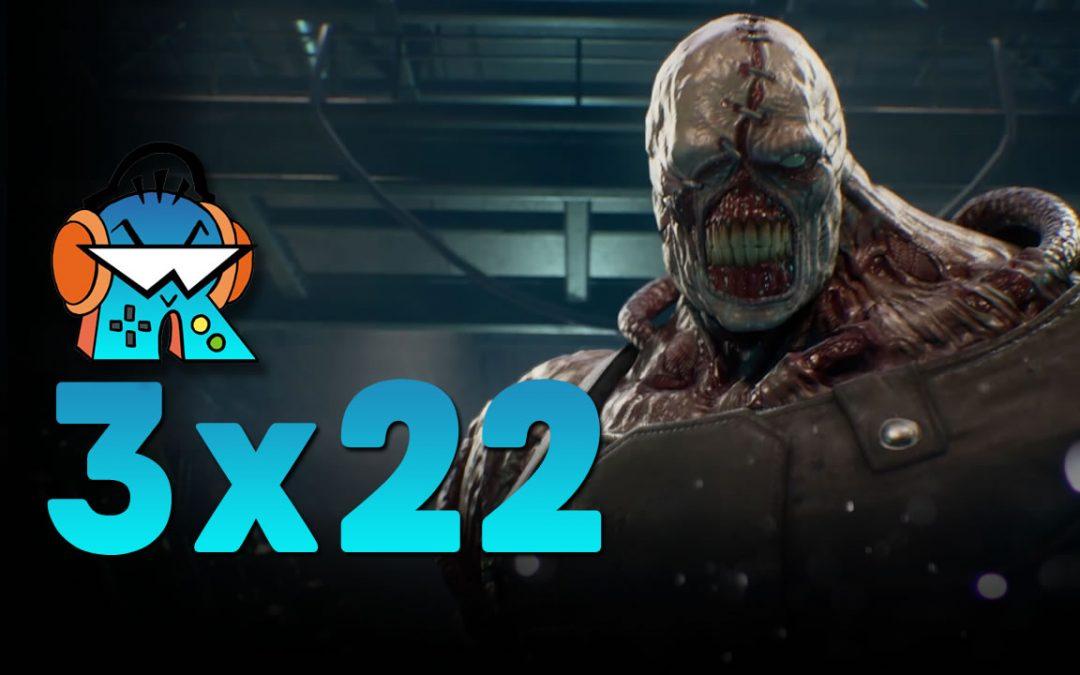 3×22 Resident Evil 3 Remake y Debate Retrocompatibilidad