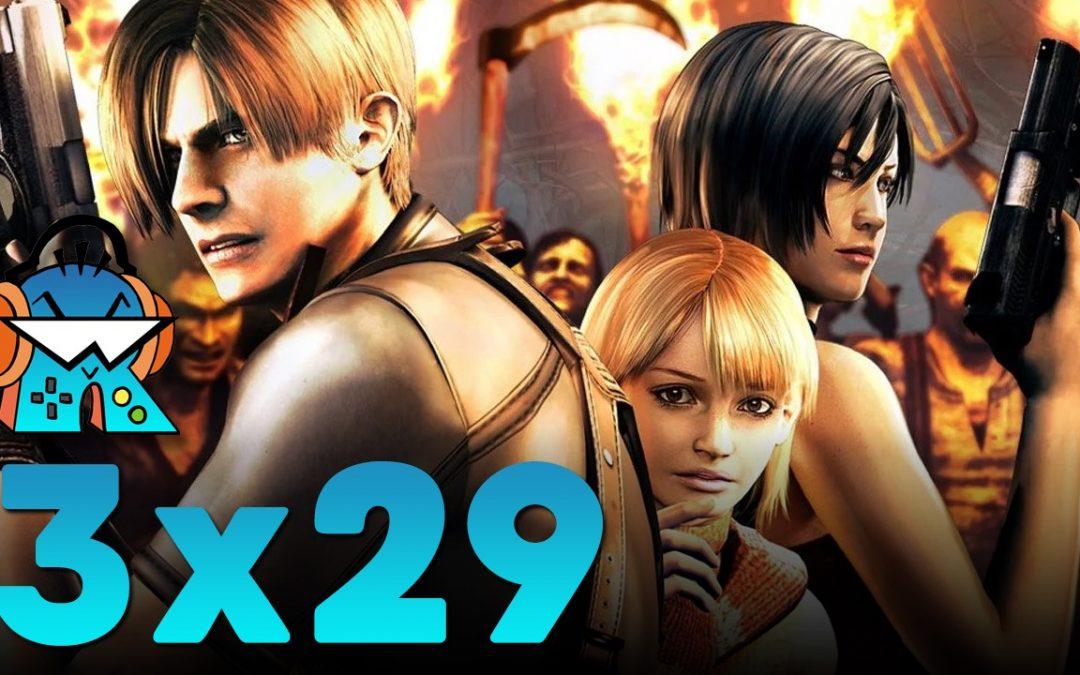 3×29 Juegos lamentablemente alargados, Resident Evil 4 Remake y Prince of Persia