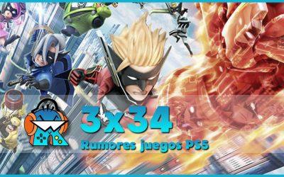 3×34 Rumores juegos PS5 y análisis The Wonderful 101