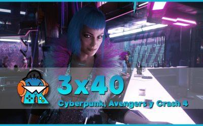 3×40 Cyberpunk 2077, Marvel's Avengers, Crash Bandicoot 4