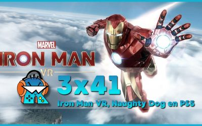 3×41 Marvel's Iron Man VR, PlayStation Indies, Naughty Dog en PS5