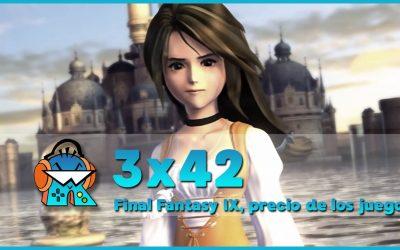 3×42 Precio de juegos en PS5 y Xbox Series X y 20 años Final Fantasy IX