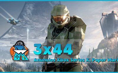 3×44 Final de Temporada: ¿2020 el mejor año en videojuegos? Y Xbox Games Showcase